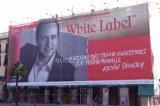 1000D 1000d*9*9/Sq. En 340 g gran edificio de la publicidad de envoltura de cerco de malla de PVC tejido Banner