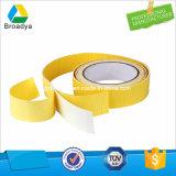 支払能力があるアクリルによって基づく二重味方されたPEの泡テープ(BY6250G)