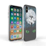 Couverture faite sur commande de téléphone de l'impression IMD TPU pour l'iPhone X