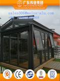 Finestra appesa superiore di alluminio con la rete di fognatura