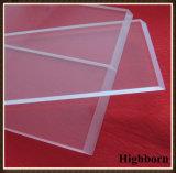 透過長方形の磨く無水ケイ酸の水晶ガラス板シートの製造業者