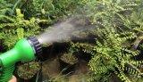 Mangueira flexível expansível de borracha da água do jardim do OEM com o injetor de pulverizador ajustável