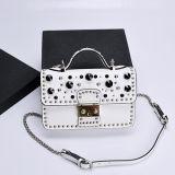 장식용 목을 박은 Emg5187를 가진 형식 소녀를 위한 Handbag Brand Crossbody Bags 가장 새로운 작풍 실제적인 가죽 숙녀