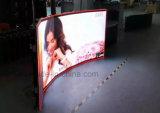 HD를 가진 옥외 임대료 발광 다이오드 표시 스크린은 던지기 Alumium 내각 500mm x 500mm를 정지한다