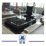 Rechte Monument van het Graniet van Shanxi het Zwarte voor de Markt van Rusland