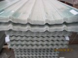 Hoja colorida de la azotea de FRP, azulejo de material para techos de la fibra de vidrio