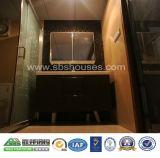 Casa móvel habitável do recipiente