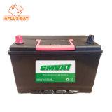 Перезаряжаемый герметичный свинцово-кислотный Mf автомобильный аккумулятор Nx120-7 12V 80AH