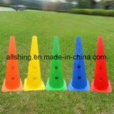 フットボールのサッカーのプラスチックスポーツのトレーニングのトラフィックの円錐形