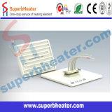 Elemento de calefacción de cerámica de la placa plana del calentador 120X120m m del infrarrojo lejano
