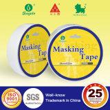 Encogimiento de doble cara de la cinta del tejido con el documento redondo sobre tapa
