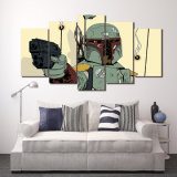 HD Printed STARWARS Comics 5 Part Canvas Art Picture Painting Wall Art Room Decoration