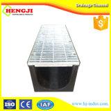 Venta caliente Zanja de plástico Canal con rejilla de acero galvanizado