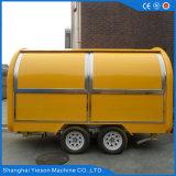 Opnieuw te gebruiken ontwerp goed het Mobiele Onthaal van de Aanhangwagen van de Vrachtwagen van de Kar van het Voedsel aan Onderzoek