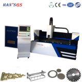 Cortador personalizado do laser da fibra da máquina de estaca do laser do metal de folha