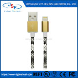 Mfi電光USBデータAppleのiPhone 8のための充満ケーブルの充電器7 6s 5革