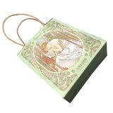 Зеленая бумага нестандартный подарок Упаковка Мешки с ручкой