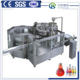 최신 채우는 액체 채우는 선 유리병 사과 주스 충전물 기계