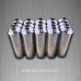 Silenciador catalítico de tubo de escape oval (S235JR)