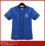 Maglietta nera su ordinazione di promozione del cotone per la pubblicità (R36)