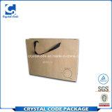 Imprimer le logo de chaussures d'emballage plastifié mat sac de papier