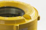 安全のための固定水素フッ化物Hfのガスの漏出探知器