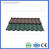 性質カラー砂の表面の石の上塗を施してあるNosenの屋根瓦