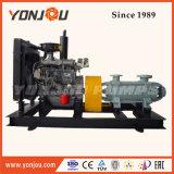 D Tipo multicelular bomba centrífuga com motor diesel / Irrigação Aplicação