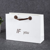 Печать логотипа простой дизайн пользовательских небольшой подарок бумажные мешки