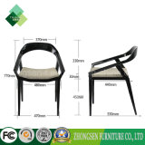 Modern Fashion Style Beech Hotel Armchair para quarto (ZSC-14)