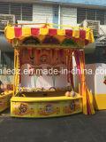 Kleurrijke Luxe Openlucht de ZijBoxen/de Cabines van het Spel van Carnaval van het Basketbal van Kinderen Hoofd