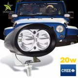 4inch 트럭 4X4 Offroad SUV 4WD ATV 20watt LED Worklight