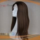 Peluca brasileña del pelo humano de la Virgen del cordón delantero (PPG-l-01758)
