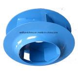 Turbine centrifuge en acier en arrière de déflecteur de ventilateur de roue (355mm)