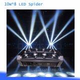 LED Spider Light Beam Light 10W 8 Disco DJ Light