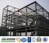 Edificio doble del almacén de la estructura de acero de la cuesta
