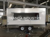 Reboque 2018 móvel do caminhão do alimento do mercado de Nova Zelândia