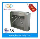 O sistema de controle de acesso de segurança semiautomático tripé catraca para exterior