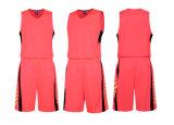 Diseño uniforme de Jersey del baloncesto del poliester de la sublimación