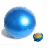 """Balance de Pilates de la bola de la base de la gimnasia del ejercicio de la aptitud de la bola los 55cm (22 de la yoga """") con la bomba de aire"""