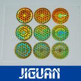 Farbenreiches Stoßzeitdrucken-anhaftender sicherer echter Hologramm-Aufkleber