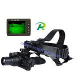 Lunettes de vision nocturne de Gen2+/jumelles avec l'oculaire et la sortie vidéo réglables D-G2071 (avec lentille 1X)