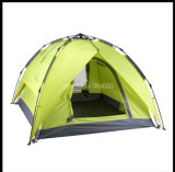 Großhandelsbillig 4 Personen-Zelt, beste Familien-kampierendes Zelt