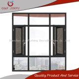 Finestra di alluminio della stoffa per tendine di G&F Jinfu con lo schermo della mosca