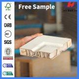 Puerta de madera infrecuente modificada para requisitos particulares del roble rojo de la losa de la talla (JHK-S07)