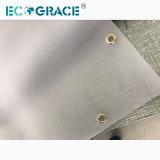 Separação de Sólidos líquidos Prensa-filtro umedecido saco de filtro de Pano Mícron