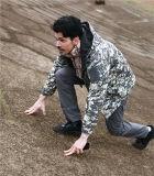 Chasse imperméable à l'eau Jacket&#160 de Softshell de peau de requin de Mens de Camo de désert ;