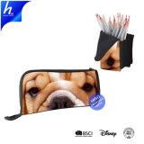 Прелестная собака печатаются на молнию карандашом случае рекламный пакет для макияжа