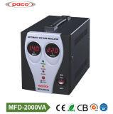 Type de relais AC 2000va régulateur de tension automatique avec afficheur numérique