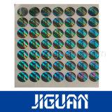Sur la vente d'impression holographique La conception personnalisée ronde hologramme Autocollant de sécurité